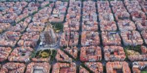 Barcelona Eiaxample - Spanien