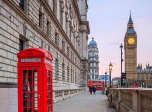 Big Ben i London - England