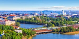 Den gamle bydel i Helsinki - Finland