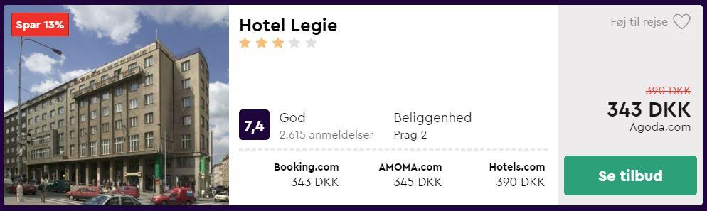 Hotel Legie - Prag i Tjekkiet
