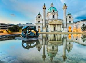 Karlskirche - Wien i Østrig