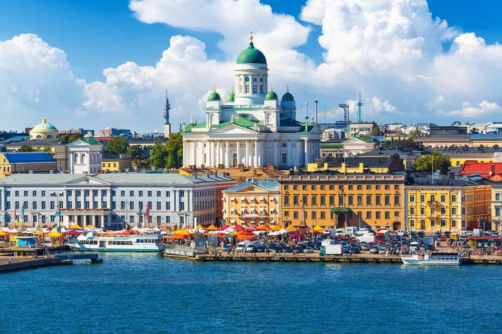 Kauppatori - Helsinki i Finland