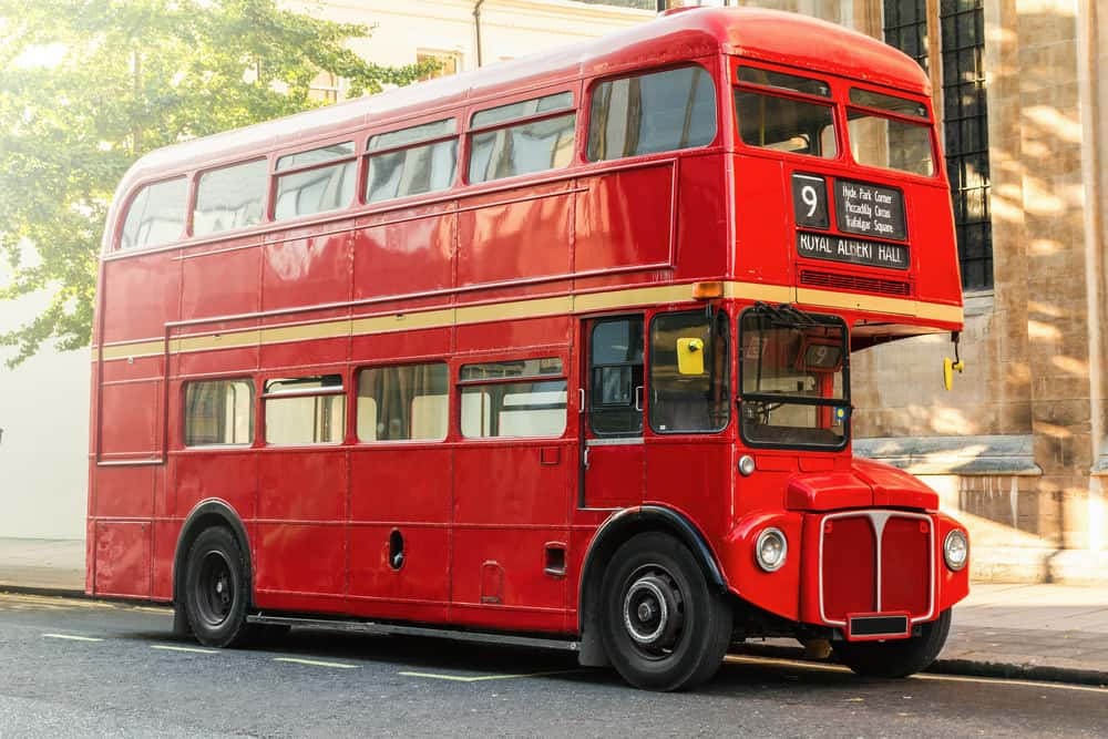 Dobbeltdækkerbus i London