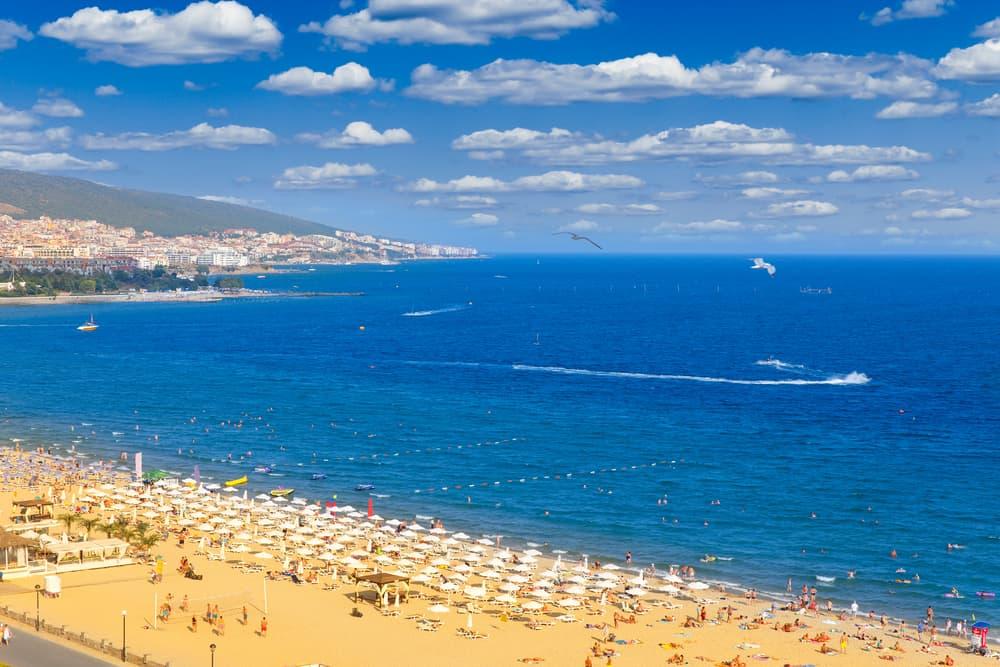 Sunny Beach - Nessebar i Bulgarien