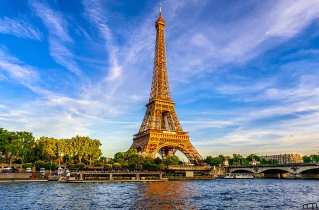 Eiffeltårnet i Paris - Frankrig