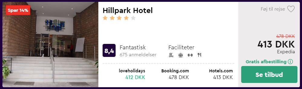 Hillpark Hotel - Nairobi i Kenya