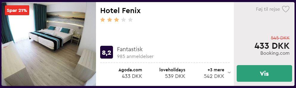 Hotel Fenix - Mallorca i Spanien