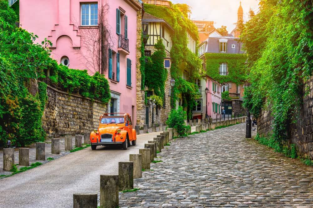 Montmatre i Paris - Frankrig