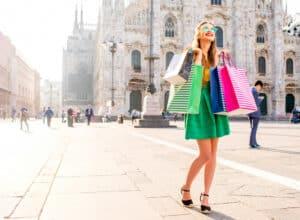 Shopping i Milano - Italien
