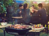 Afskedsfest med grillmad
