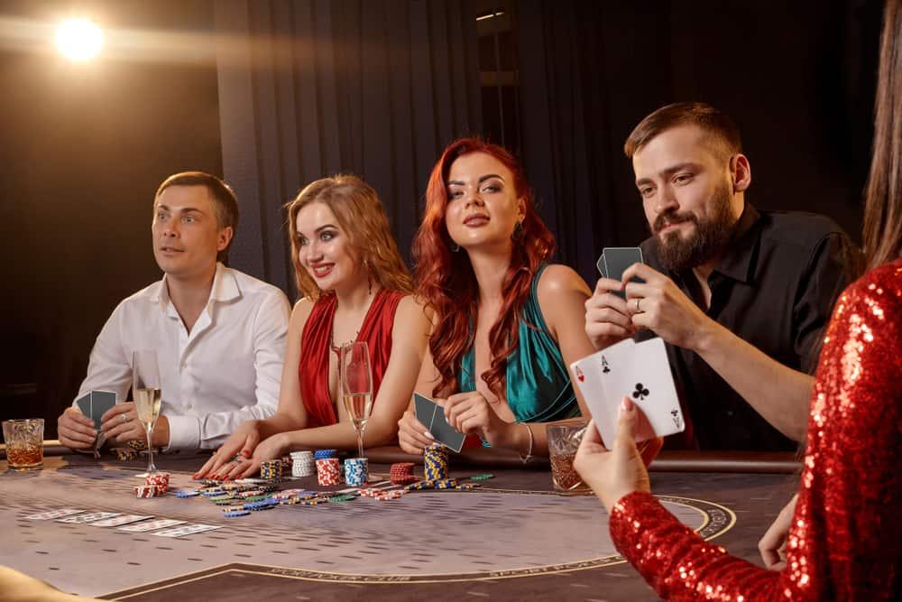 Kortspil i Las Vegas (USA)