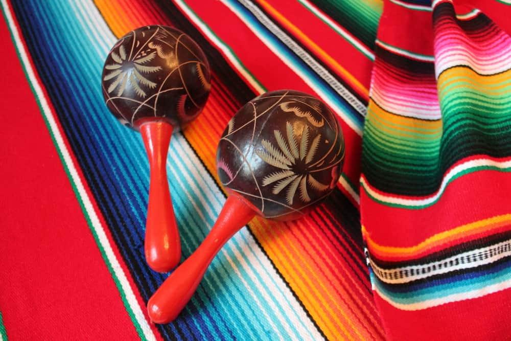Maracas - Souvenir fra Mexico