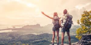 Backpackers på lang rejse