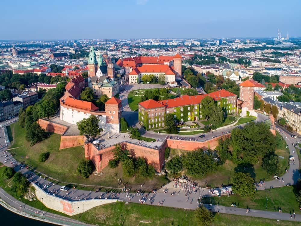 Den gamle bydel i Krakow