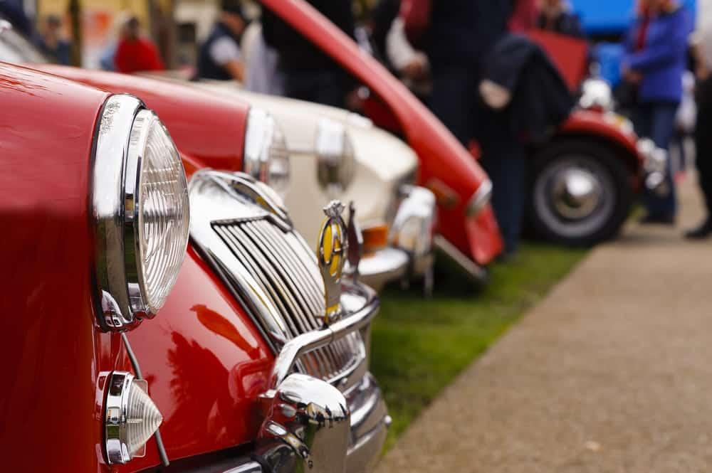 Klassiske biler i Roskilde
