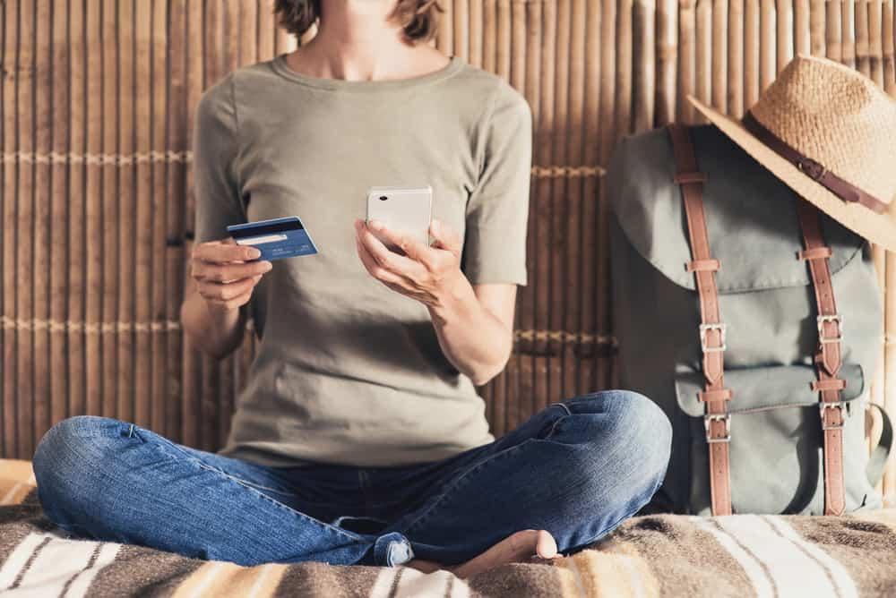 Betalingskort på rejsen