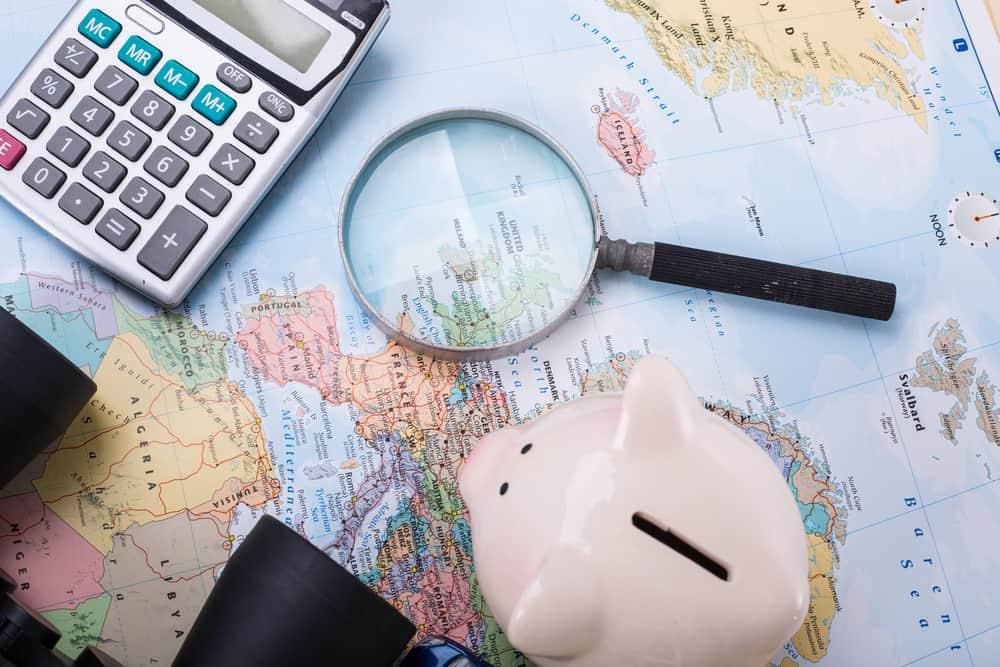 Læg budget for rejsen