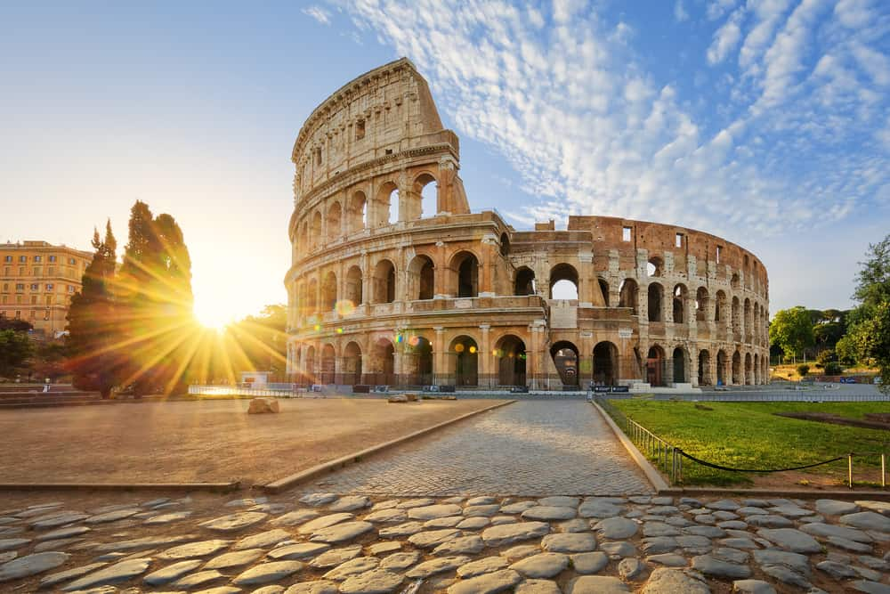 Collosseum i Rom - Italien