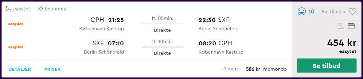 Flybilletter til Berlin - Nytår