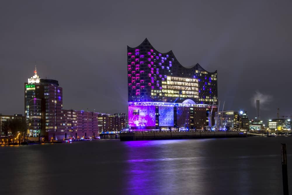 Operahuset i Hamborg - Tyskland