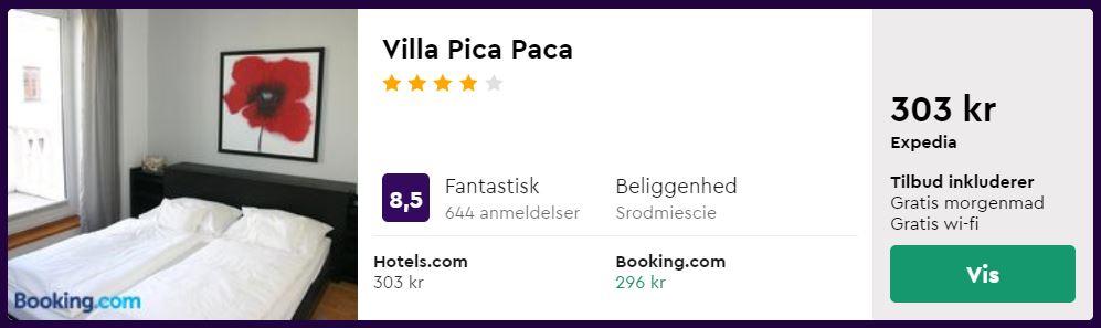Villa Pica Paca i Gdansk i Polen