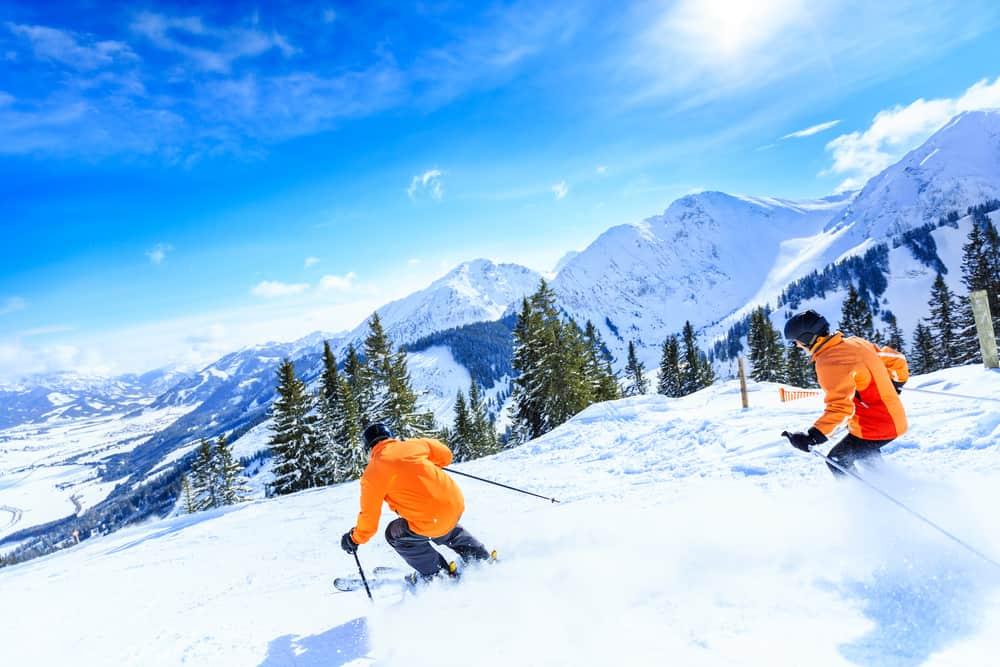 Skitur til Østrig
